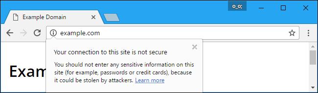 exemplu site http nesecurizat