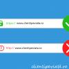 ssl exemplu https vs http